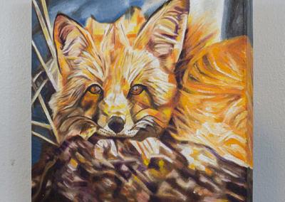 Cozy Fleece Fox by Cameron Dixon - DSC09940-complete-left