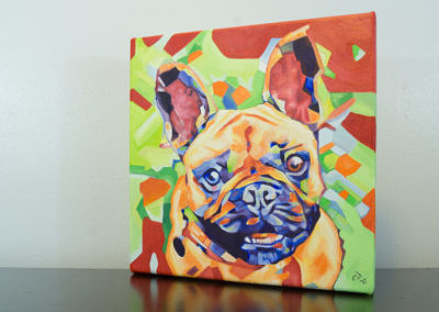 Popart-frenchie by Cameron Dixon-left