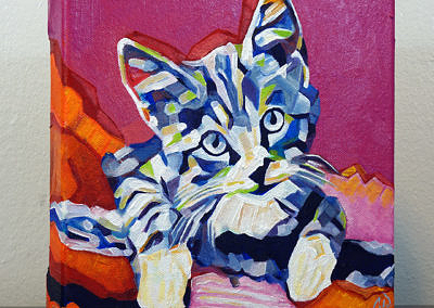 2017-05 - Pop Art Kitten1 by Cameron Dixon - right-1080px