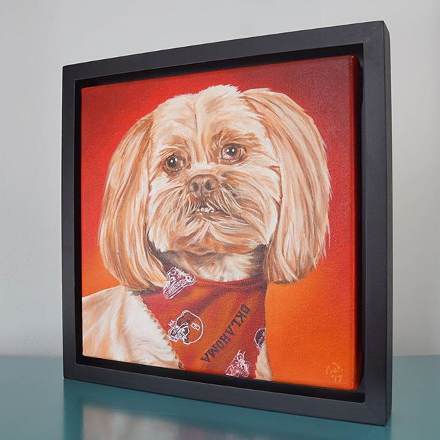 Pet Portrait PaintingBell12 x 12 Oil over Acrylic Have your own custom painting created from a photo for as low as $200usd + shipping worldwideIncludes:- 12in x 12in Oil Painting- Black Floating Frame- Short Timelapse Videohttps://www.etsy.com/shop/CameronDixonsArt#ny #nyc #bigapple #newyork #newyorknewyork #newyorkcity #manhatten #eastharlem #ilovenyc #photooftheday #igersofnyc #nylove #newyorkart #newyorklife #newyorkstyle #newyorkartist #canadianartist #newyork_instagram #petportrait #petpainting #oilpainting #art #paint #artistforhire #commission#oklahoma #ou #oklahomasooners