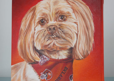 Commissioned painting by Cameron Dixon - DSC00289-Bell-left-1080px
