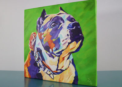 Pop Art Pet Painting - Athena - Cameron Dixon - DSC00302-left-1080px