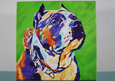 Pop Art Pet Painting - Athena - Cameron Dixon - DSC00303-front-1080px