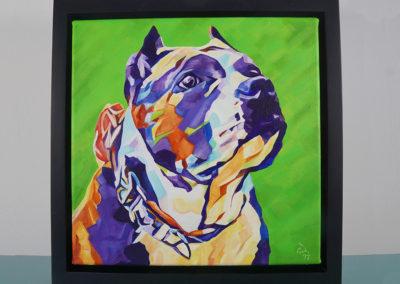 Pop Art Pet Painting - Athena - Cameron Dixon - DSC00304-frame-front-1080px