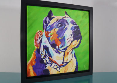 Pop Art Pet Painting - Athena - Cameron Dixon - DSC00305-frame-right-1080px